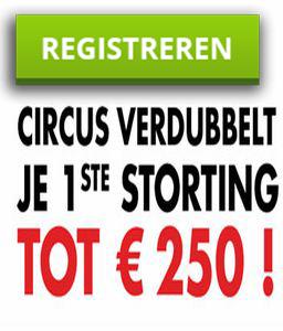 circus.be POPUP met reg
