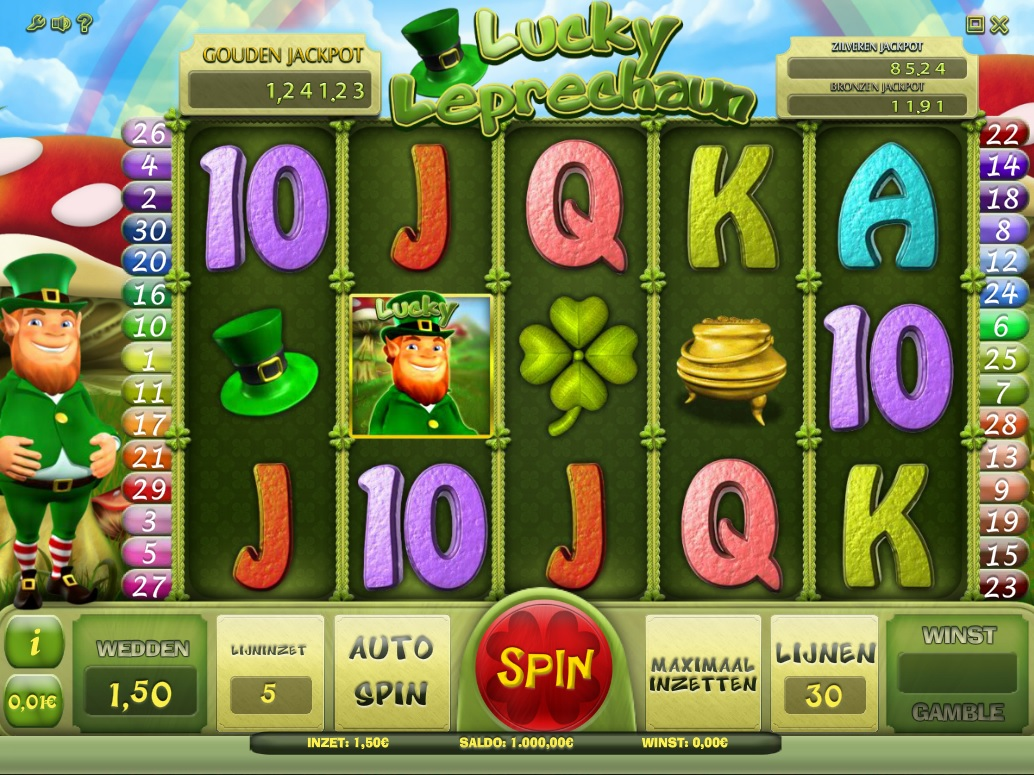 Lucky Leprechaun Casino777