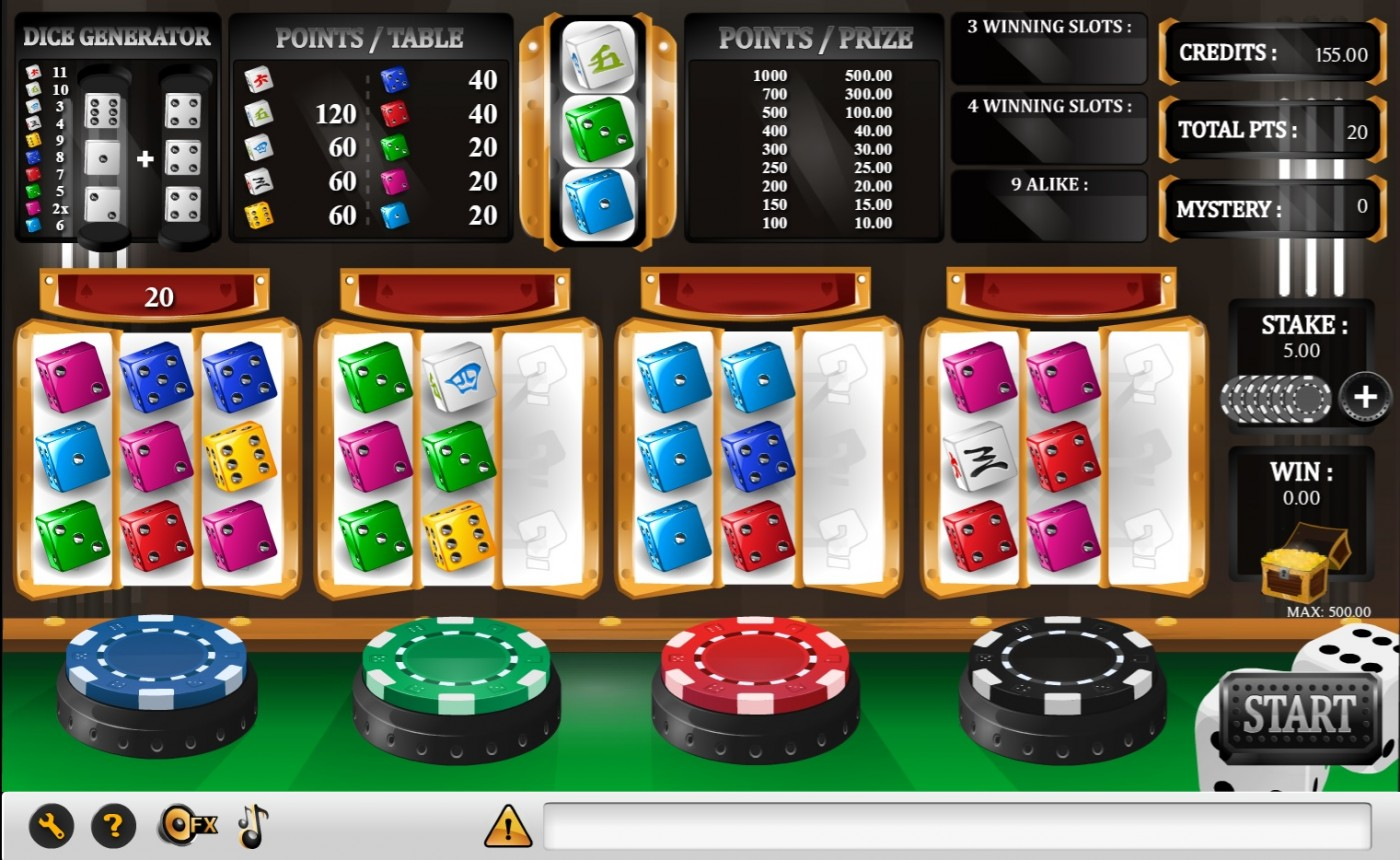 vip casino dice game