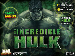 the incredible hulk video slot
