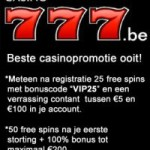 Casino777 be VIP bonus