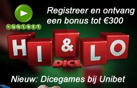 Dice games Unibet