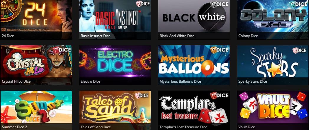 casino777 nieuwe dice games overzicht